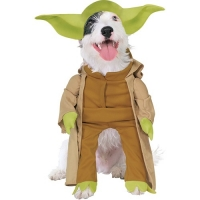 Fancy Dress star wars Yoda dog costume