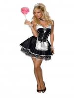 Ladies Sexy Maid Secret Wishes French Maid Fancy Costume
