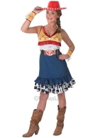 Ladies Sassy Jessie Toy Story Costume