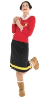 Ladies Popeye Olive Oyl Costume