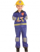 Boys Hero Fireman Fancy Dress Costume