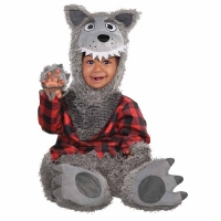 Halloween Baby Wolf Fancy Dress Costume