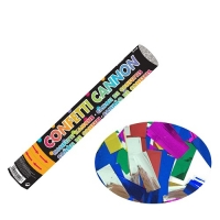 Party Celebration's Confetti Foil Party Popper Cannon Multi Color Foil