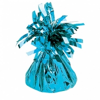Party Celebration's Baby Blue Foil Balloon Weight Table/ Party Decoration