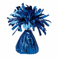 Party Celebration's Blue Foil Balloon Weight Table/ Party Decoration