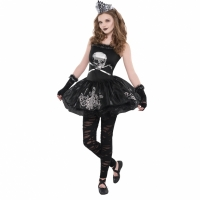 Girls And Teens Zomberina Fancy Dress Costume
