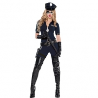 Ladies Stop Traffic Cop Sexy Fancy Dress Costume