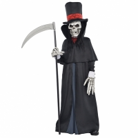 Boys Teen dapper death skeleton Costume