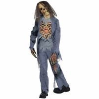 Boys Halloween Fancy Dress Zombie Corpse Costume Age 8-10 Years