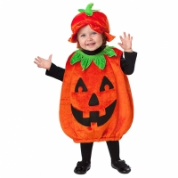 Toddler Boys / Girls Halloween Fancy Dress Baby Pumpkin Patch Cutie Costume