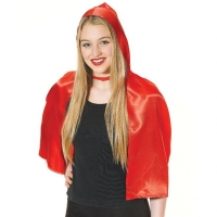 Red riding hood cape adults fancy dress