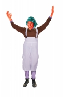 Adults Oompa Loompa Chocolate Factory Worker Costume