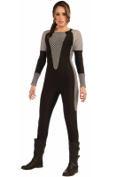 Ladies Hunger Games Katniss Everdeen jumpsuit Fancy Dress Outfit 8-12