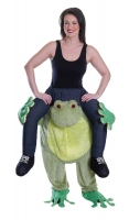 Adult Piggy Back Frog Costume