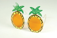Pineapple, tropical style hawaiian glasses
