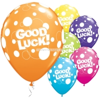 "Latex Good Luck 11"" Balloons 25 Pack Special Occasion Party Decorations"