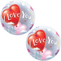 'I Love You' Valentines Day Bubble Balloon