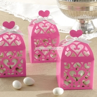Hot Pink Lantern Favor Boxes Wedding Decoration