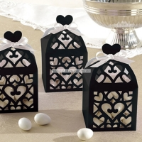Black Lantern Favour Boxes Wedding Decoration