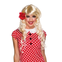 Blonde Vixen fancy dress wig