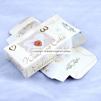 Pack Of 10 White Wedding Cake Boxes Wedding Celebration