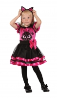 Toddler Pink Kitty Fancy Dress Costume