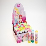 Disney Princess mini party bubbles pack of 4, party bag filler