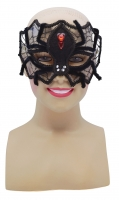 Deluxe Spider masquerade Eye Mask