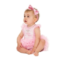 Girls Disney Minnie Mouse Pink Sparkle Baby Fancy Dress Costume