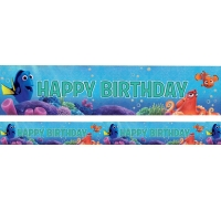 Under the Sea Theme Party Finding Dory Holographic Foil Banner