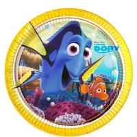 Under the Sea Theme Party Finding Dory Paper Party Plates