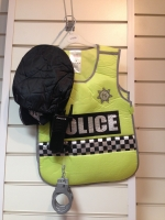 Boys Policeman Vest and accessories