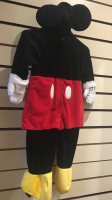 Kids Mickey Mouse Hire Costume Toddler