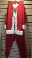 Mens Fun Santa Hire Costume