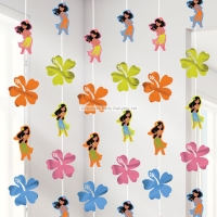 Hawaiian Hula Girl Party Strings Decoration 7ft