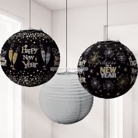 Happy New Year's Eve Lanterns Party/ Celebration Decorations