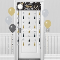 Happy New Year's Door Curtain Party/ Celebration Decorations