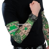 Irish St Patricks Day Fancy Dress tattoo sleeve accessory