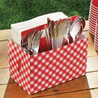Picnic Party/ BBQ Special Occasions Fun Utensil Caddy