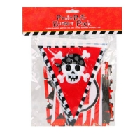 Pirate party flag banner pack party supplies