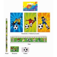 Football stationary set party bag , loot bag filler