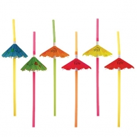Umbrella Straws Summer Party pack