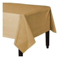 Gold Celebration Paper Table Cover Party Decoration