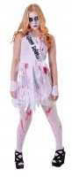 Bloody Prom Queen Halloween Fancy Dress Costume teens