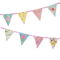 Party/ Special Occasions Truly Scrumptious Vintage Floral Paper Bunting