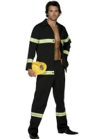 Adult Fever Fireman Costume