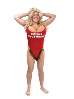 Baywatch Novelty Fancy Dress Costume