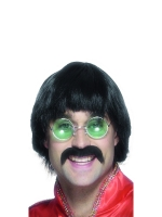 Beatles Sergeant Pepper Wig & Tash