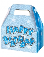 3 pack blue glitz party boxes