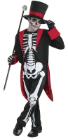 Boys Halloween Mr Bone Jangles Costume